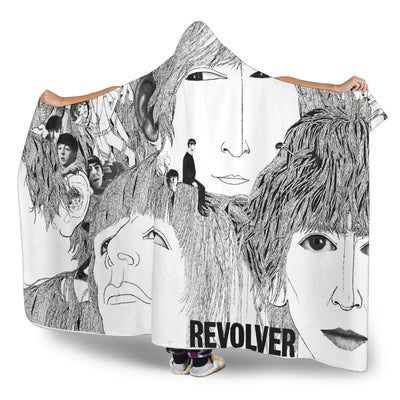 The Beatles - Revolver - Hooded Blanket