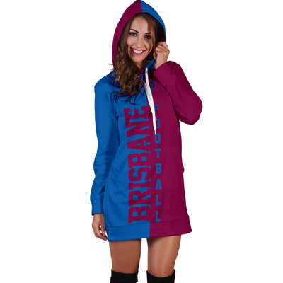 Brisbane Football - Hoodie Dress