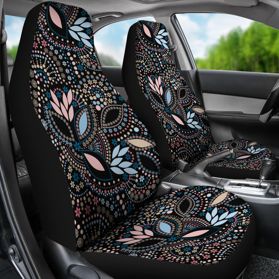 Tribal Beads Car Seat Covers (Set of 2)