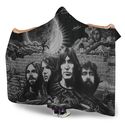 Pink Floyd Take Up Thy Stethoscope And Walk - Hooded Blanket