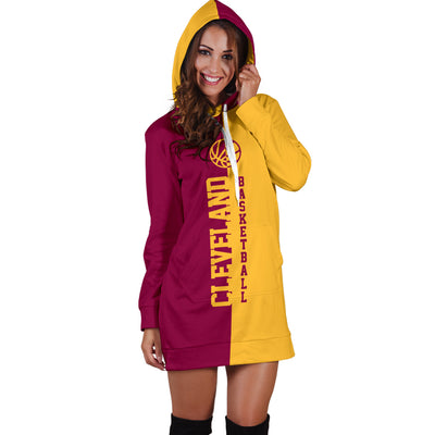 Cleveland Basketball - Hoodie Dress