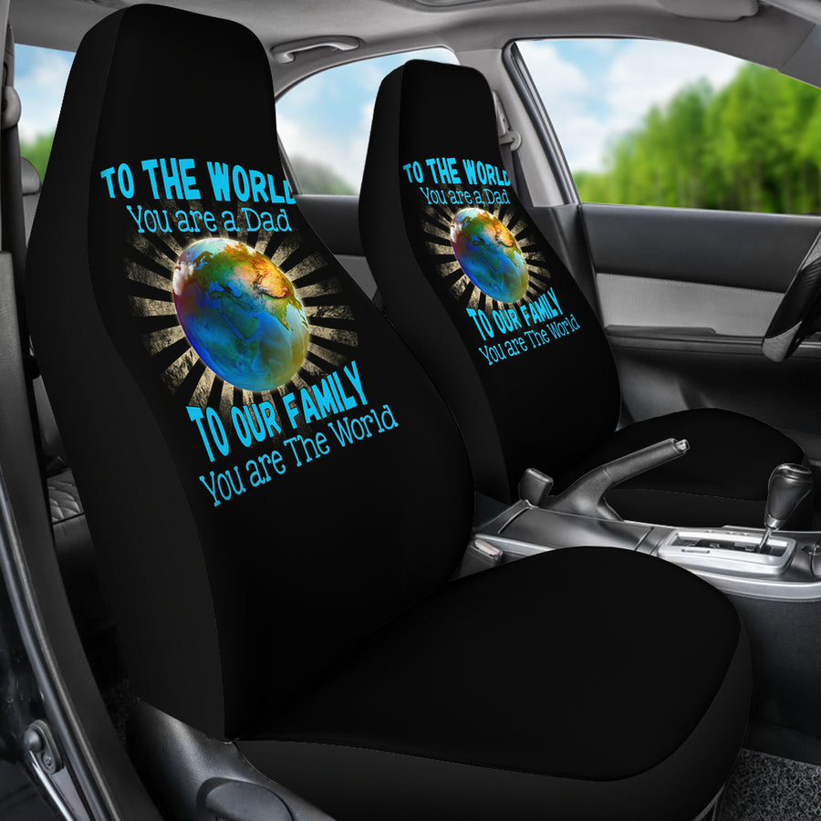 To The World - Car Seat Covers (Set of 2)