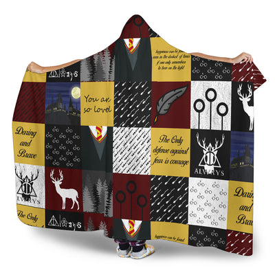 Wizard Hooded Blanket