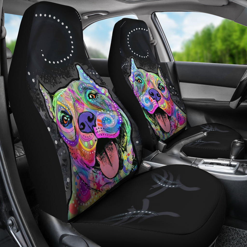 Pit Bull Car Seat Covers Set Of 2