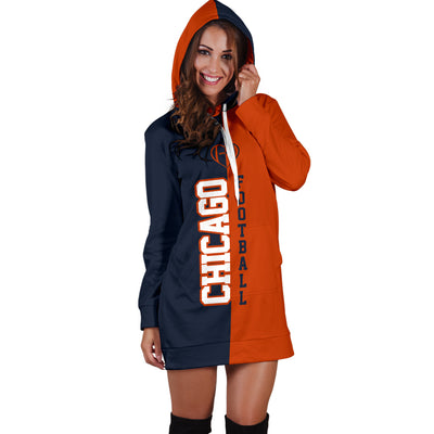 Chicago Football - Hoodie Dress