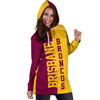 Brisbane Rugby - Hoodie Dress