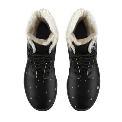 Odins Raven - Faux Fur Leather Boots