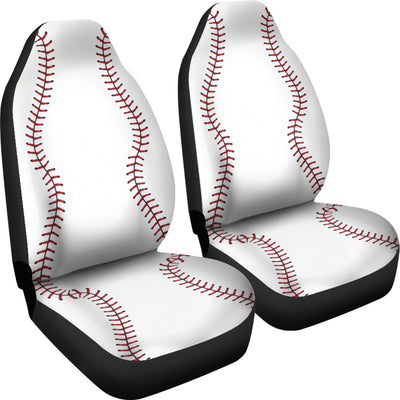 Baseball - Car Seat Cover - (Set of 2)