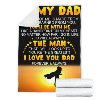 Love You Dad - Premium Blanket