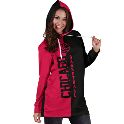 Chicago Basketball - Hoodie Dress