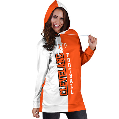 Cleveland Football - Hoodie Dress