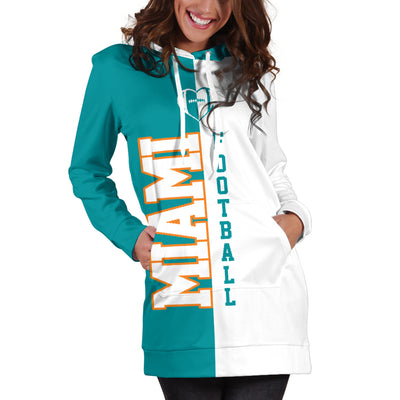 Miami Football - Hoodie Dress