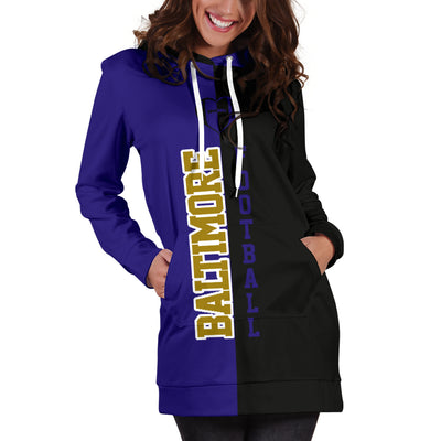 Baltimore Football - Hoodie Dress