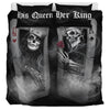 Skull Play Cards Couple - Bedding Set