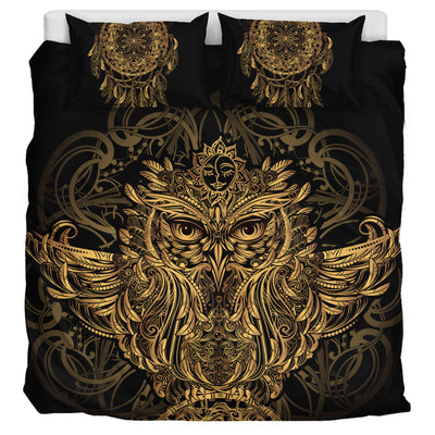 Golden Owl - Bedding Set