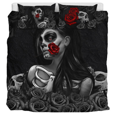 Day of the Dead & Roses - Bedding Set