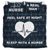 Sleep With Nurse White - Bedding Set