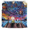 Starry Night Snoopy - Bedding Set