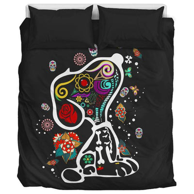 Colourful Snoopy - Bedding Set