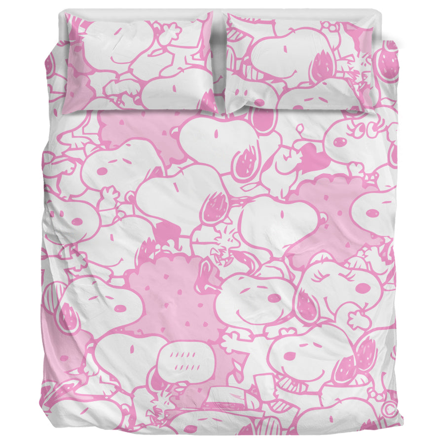 Pink Snoopy - Bedding Set