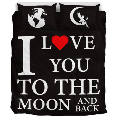Love You to the Moon and Back - Bedding Set