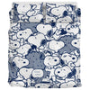 Navy Snoopy - Bedding Set