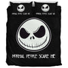 """Scare Me"" Jack Skellington Bedding Set"