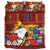 Book Worm Snoopy Bedding Set