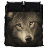 Wolf Face - Bedding Set