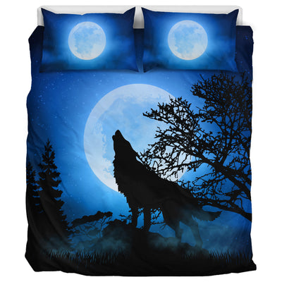 Howling Wolf 2 - Bedding Set