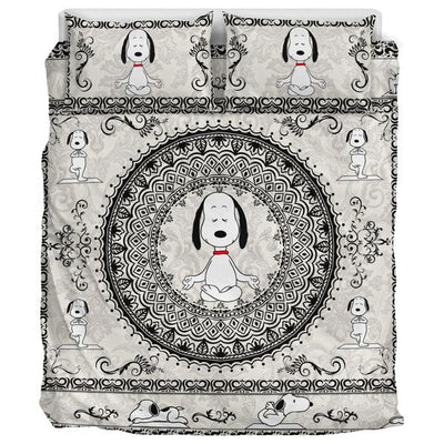 Yoga Snoopy - Bedding Set