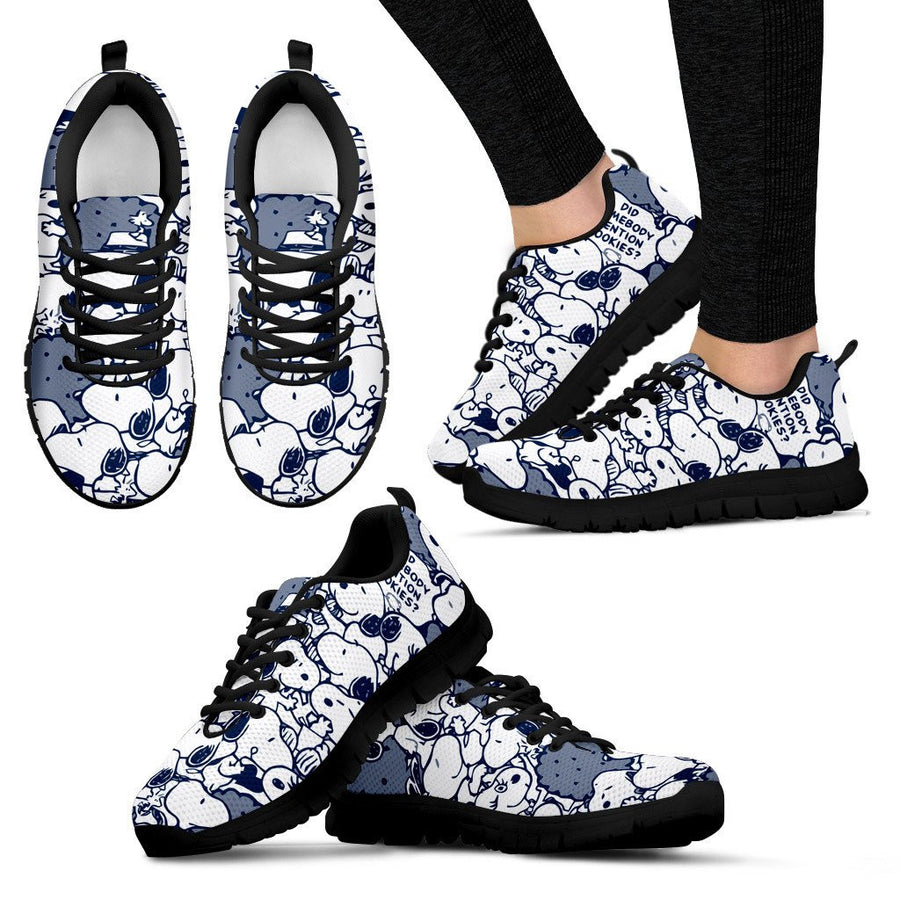 Snoopy Sneakers - Navy