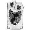 Wolf and Raven - Bedding Set