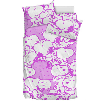 Purple Snoopy - Bedding Set