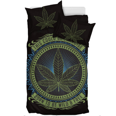 Weed Paradise - Bedding Set