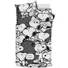 Black Snoopy - Bedding Set