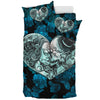 Sugar Skull Love In Color - Bedding Set