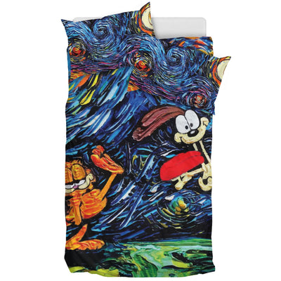 Garfield And Odie - Bedding Set