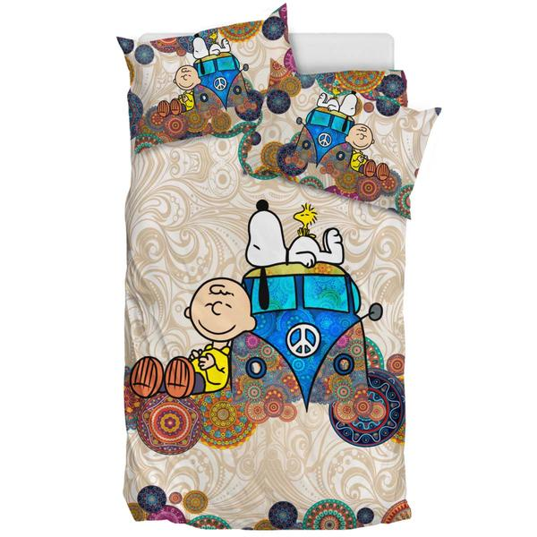 Snoopy On VW Bus - Bedding Set