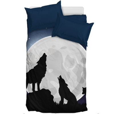 Howling Wolf - Bedding Set