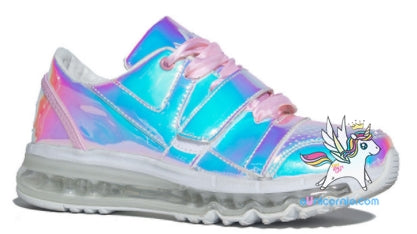 Tênis holográfico Rosa / Teen Sneaker - ULTIMA UNIDADE - N36