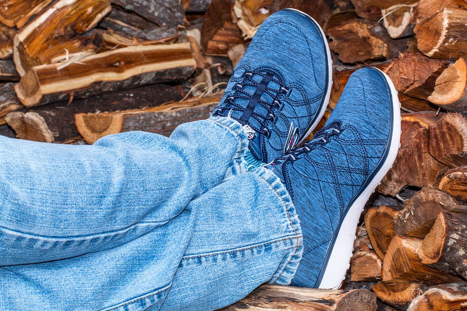 Asics Space blue