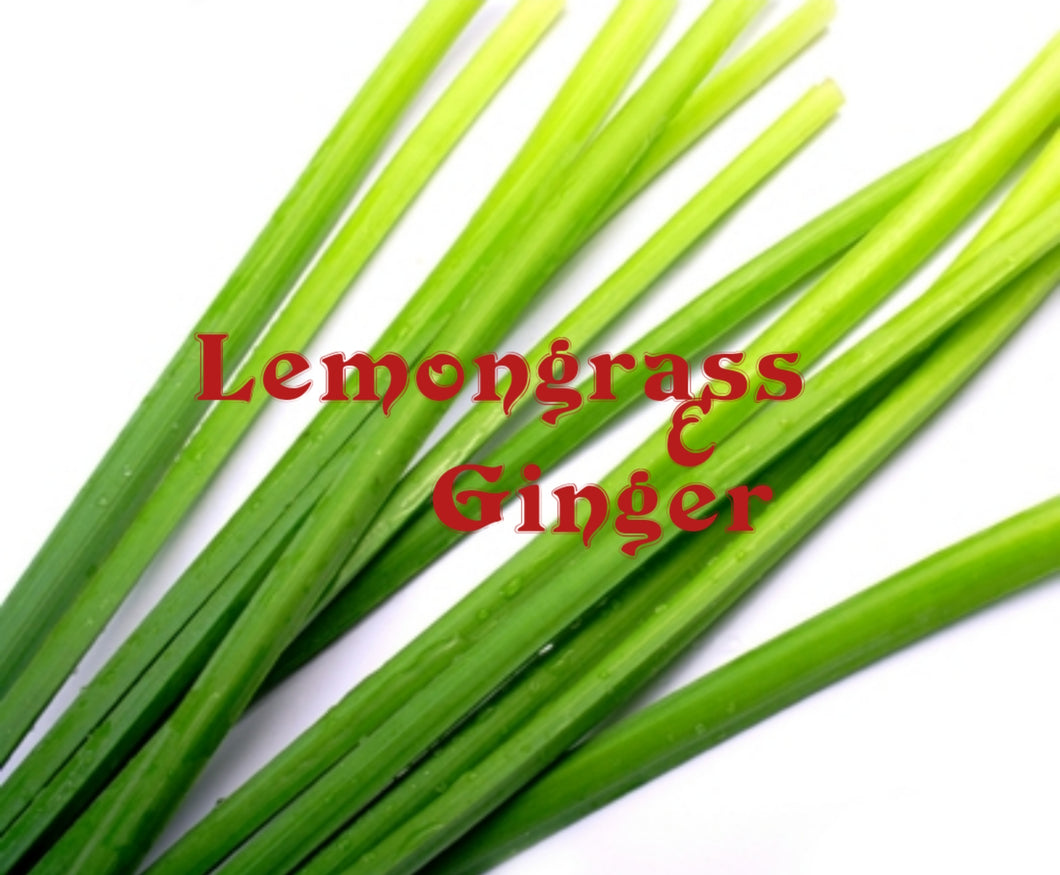 Lemongrass & Ginger NEW
