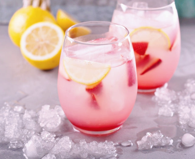 Strawberry Lemon Ice