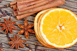 Zesty Orange Spice Garland