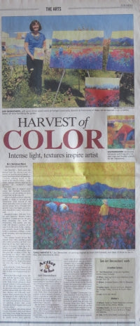 Harvest of Color Article