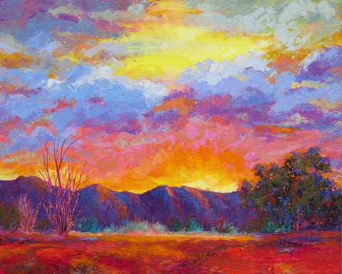 Sunrise Pending original oil painting by Jeri Desrochers