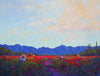Chile Harvest XIV original oil painting by New Mexico Artist Jeri Desrochers