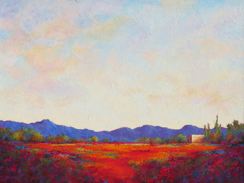 Valley Skies II - SOLD