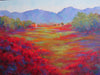 Verde Vista original oil painting by New Mexico Artist Jeri Desrochers